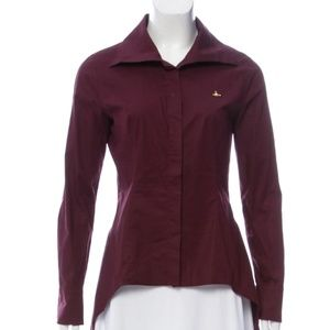 Vivienne Westwood Anglomania Button-Up Asymmetrica